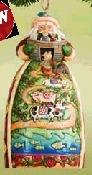Jim Shore 4007947 Santa Noah's Ark Figurine