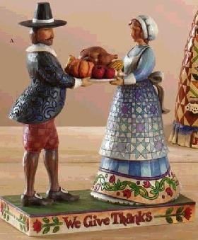 Jim Shore 4007980 We Give Thanks Figurine