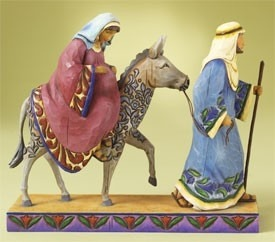 Jim Shore 4007981 The Journey That Changed Figurine