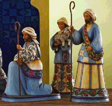 Jim Shore 4007983 Bringing Praise Figurine