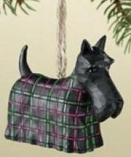 Jim Shore 4008107 Scottish Terrier Ornament