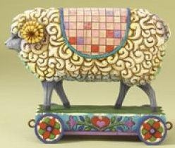 Jim Shore 4008181 Wooly Ram Figurine
