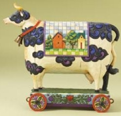 Jim Shore 4008182 Bell Cow Figurine