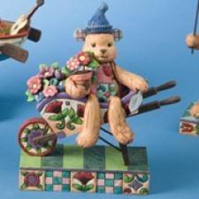 Jim Shore 4008186 Flower Bear Figurine