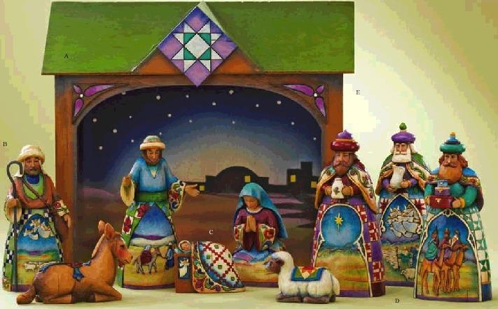 Jim Shore 4008790 Nativity Set