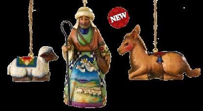 Jim Shore 4008797 Nativity Hanging