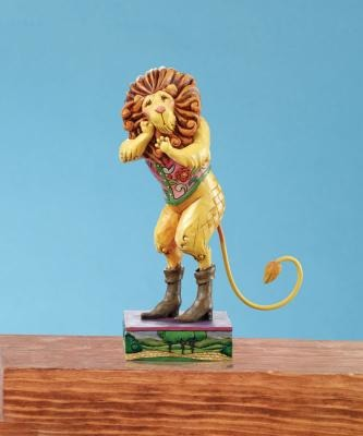 Jim Shore Wizard of Oz 4009046 Courage Lives Within You Figurine