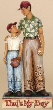 Jim Shore 4009210 Father and Son Figurine