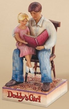 Jim Shore 4009213 Daddy s Girl Figurine