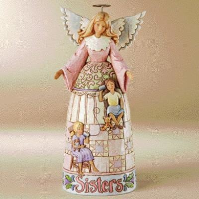 Jim Shore 4009246 My Sister My Friend Figurine