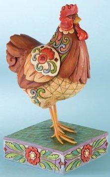 Jim Shore 4009251 Spring Chicken Figurine