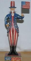 Jim Shore 4009273 Proudly Patriotic Figurine