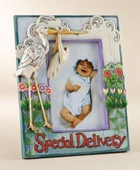 Jim Shore 4009310 Stork Baby