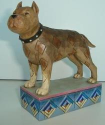 Jim Shore 4009748 Pit Bull Figurine