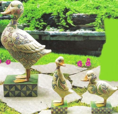 Jim Shore 4009751 3 Ducks Statue
