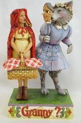 Jim Shore 4009753 Wolf In Grandma's Clothing Figurine