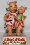 Jim Shore 4009906 You Have a Heart of Gold Figurine