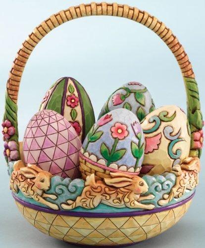 Jim Shore 4010485 Easter Egg Gift Box