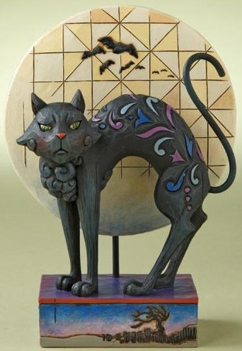 Jim Shore 4011059 Black Cat