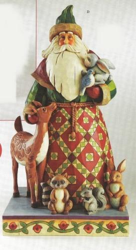 Jim Shore 4011071 Santa Animals
