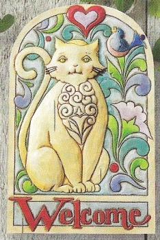 Jim Shore 4011475 Cat