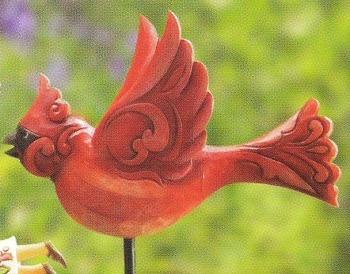 Jim Shore 4011478 Red Bird