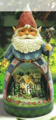 Jim Shore 4011481Q Gnome Diorama Statue