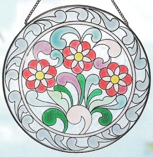 Jim Shore 4012503 Three Daisies Suncatcher