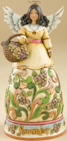 Jim Shore 4012560 November Figurine