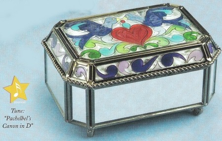 Jim Shore 4012609 Bird & Heart Covered Box