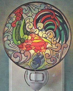 Jim Shore 4012612 Rooster Night Light
