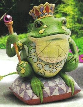 Jim Shore 4012623 Frog Prince