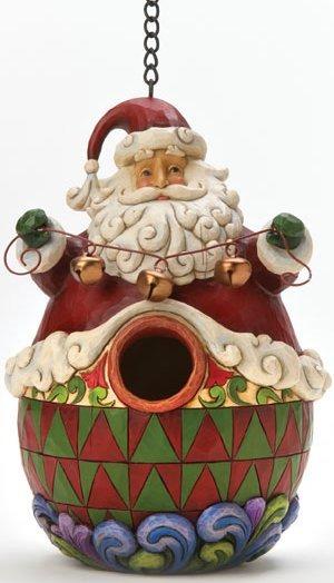 Jim Shore 4012991 Birdhouse Christmas Tree Birdhouse