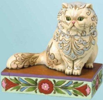 Jim Shore 4013026 Victoria Persian Cat Figurine