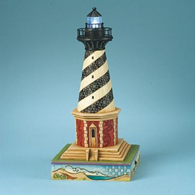 Jim Shore 4013218 Beware the Diamond Shoals Cape Hatteras Lighted Figurine