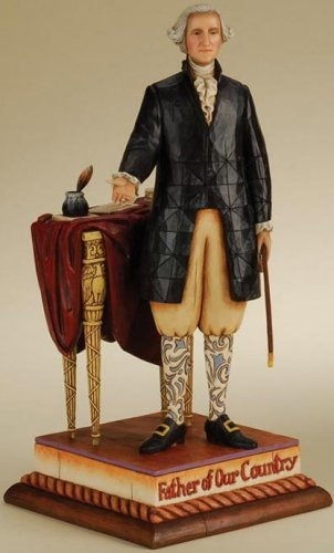 Jim Shore 4013283 George Washington Father of Our Country Figurine
