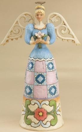 Jim Shore 4014039 Remembrance Angel Figurine