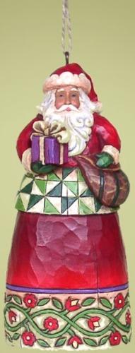 Jim Shore 4014377 Santa & Present