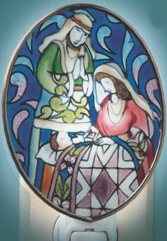 Jim Shore 4014440 Nativity Night Light