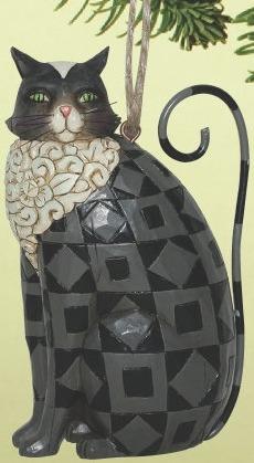 Jim Shore 4014463 Black Cat Ornament