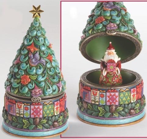 Jim Shore 4014473 Nativity & 3 Kings Box Hinged Box