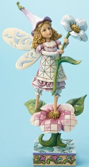 Jim Shore 4014977 Flower Fairy Figurine
