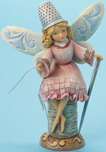 Jim Shore 4014978 Sewing Fairy Figurine