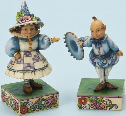 Jim Shore Wizard of Oz 4014984 Wee Welcome Figurine