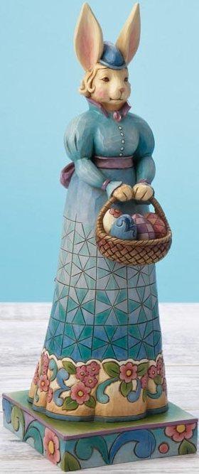 Jim Shore 4015498 Easter Promenade Figurine
