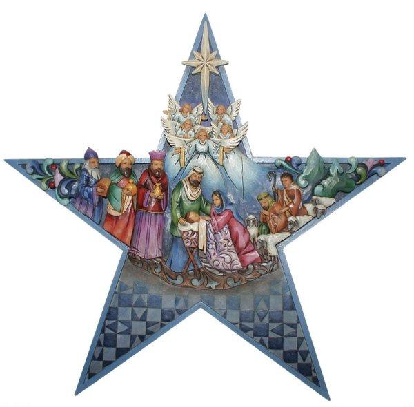 Jim Shore 4015624 Nativity Star Figurine