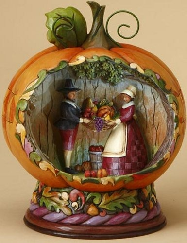 Jim Shore 4015887 Harvest Diorama Figurine