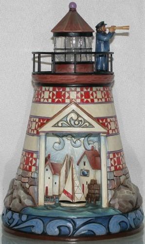 Jim Shore 4015890 Summer Lighthouse