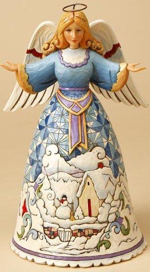 Jim Shore 4016085 Winter's Wonders Figurine
