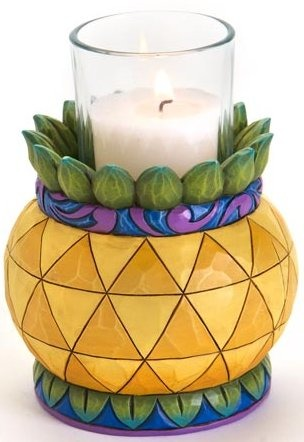 Jim Shore 4016366 Pineapple Candleholder Candle Holder